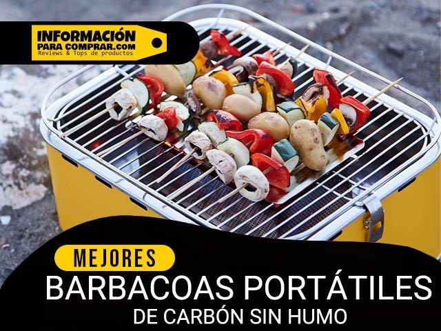 5 mejores barbacoas portátiles de carbón sin humo