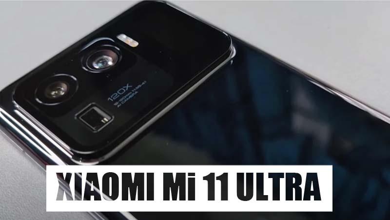 foto Xiaomi Mi 11 Ultra comprar