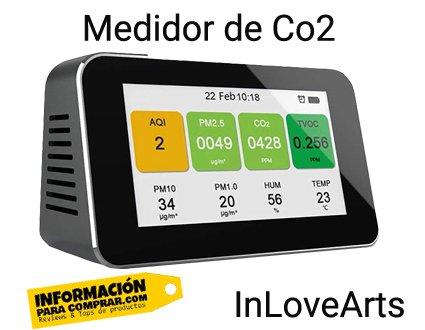 InLoveArts 3 medidor de Co2