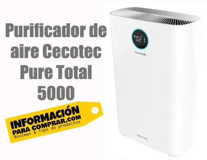 Purificador de aire Cecotec Pure Total 5000 Hepa H13