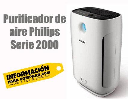 Purificador de aire Philips Serie 2000 HEPA H13