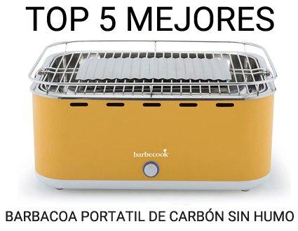 TOP 5 mejores barbacoas portátiles sin humo de carbón