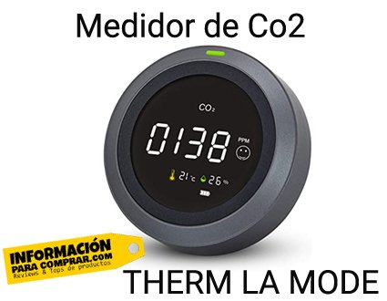 Therrm La Mode medidor de Co2 de bolsillo