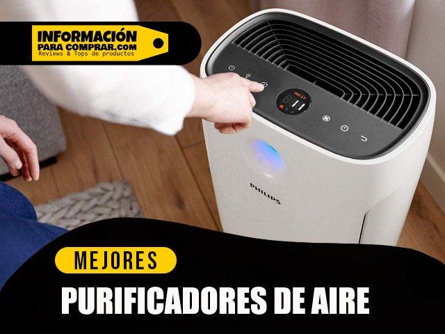 mejores purificadores de aire con filtro HEPA H13